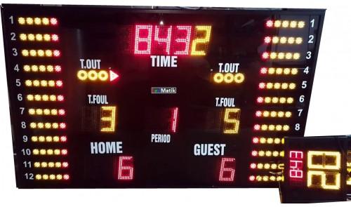 Basketbol LED Skorbordu